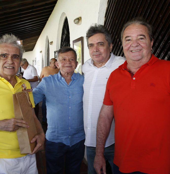 Lucio Brasileiro, Edilmo Cunha, Totonho Laprovitera E Chiquinho Aragao
