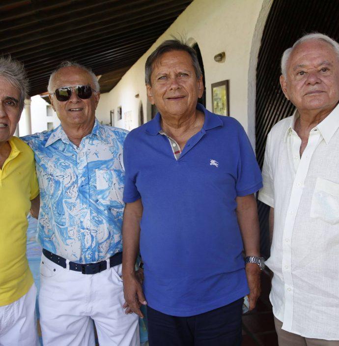 Lucio Brasileiro, Regis Vidal, Bill Farias E Cesar Galvao