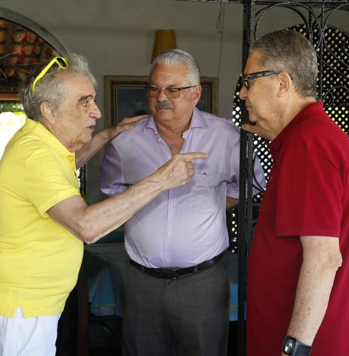 Lucio Brasileiro, Victor Frota E Cysne Jereissati