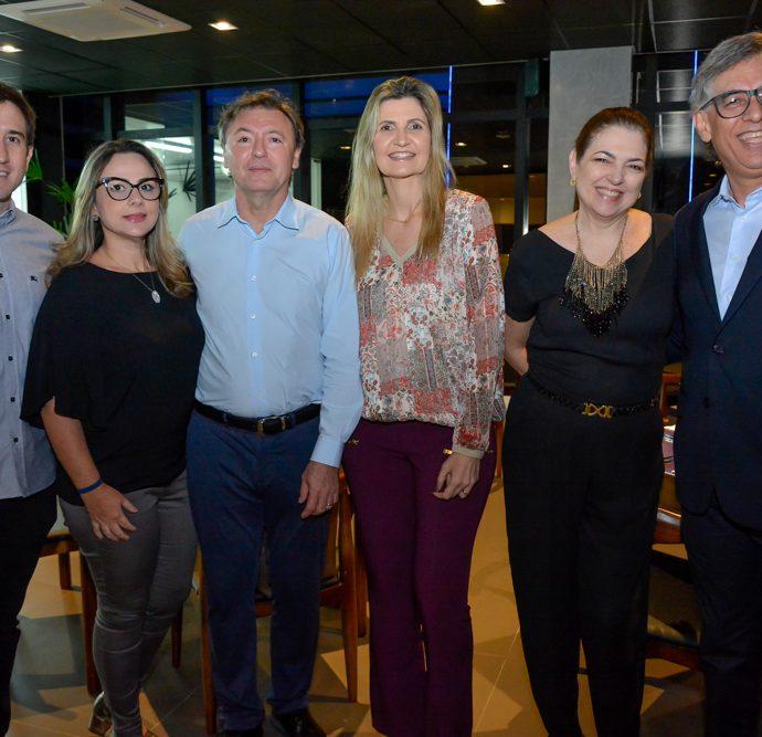 Luiz Fernando, Georgia Philomeno, Mauricio Filizola, Laura Paiva, Fernanda E Cid Alves