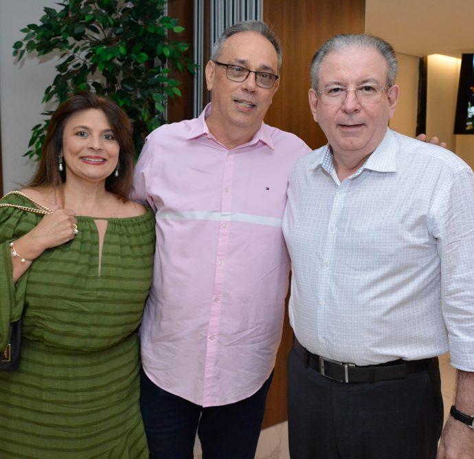 Luiziane Paz, Jose Dias E Ricardo Cavalcante