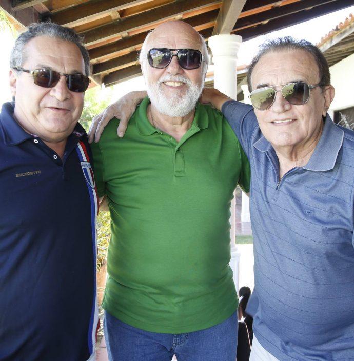 Manuel Veras, Mauricio Leal E Assis Antero