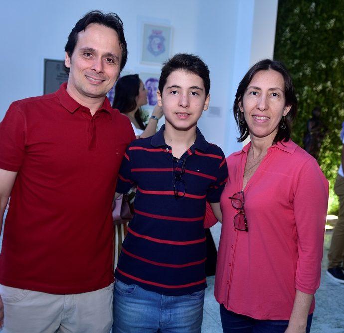 Marcelo Barros, Leonardo Pessoa, Tatiane Pessoa