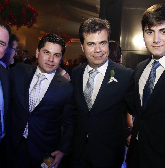 Marcelo Cidrao, Pompeu Vasconcelos, Duda E Dudu Brigido