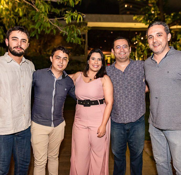 Marcelo Farias, Galvao Nogueira, Amanda Oliveira, Anderson Carvalho E Fernando Brigido