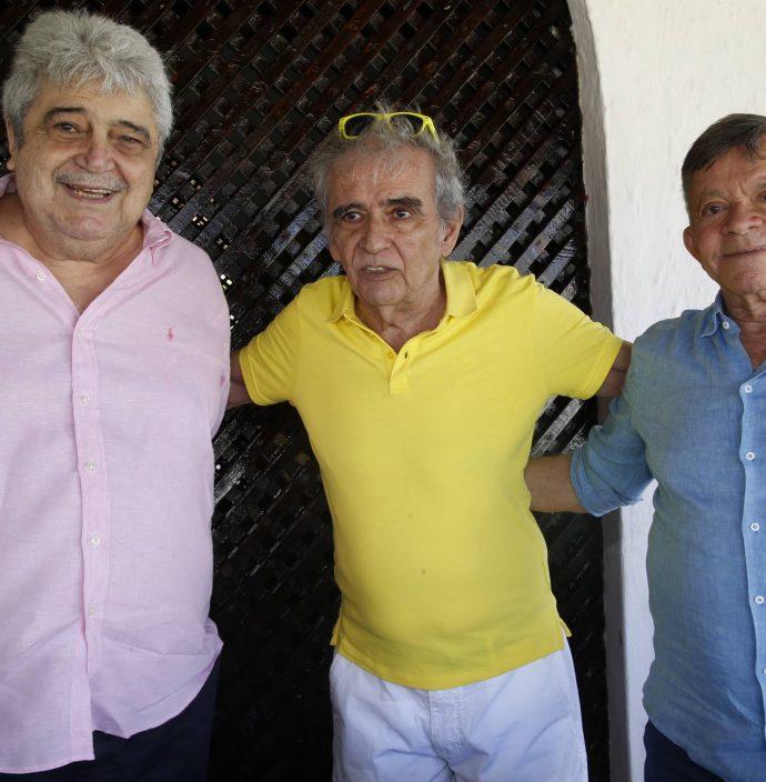 Marcelo Feitosa, Lucio Brasileiro E Edilmo Cunha