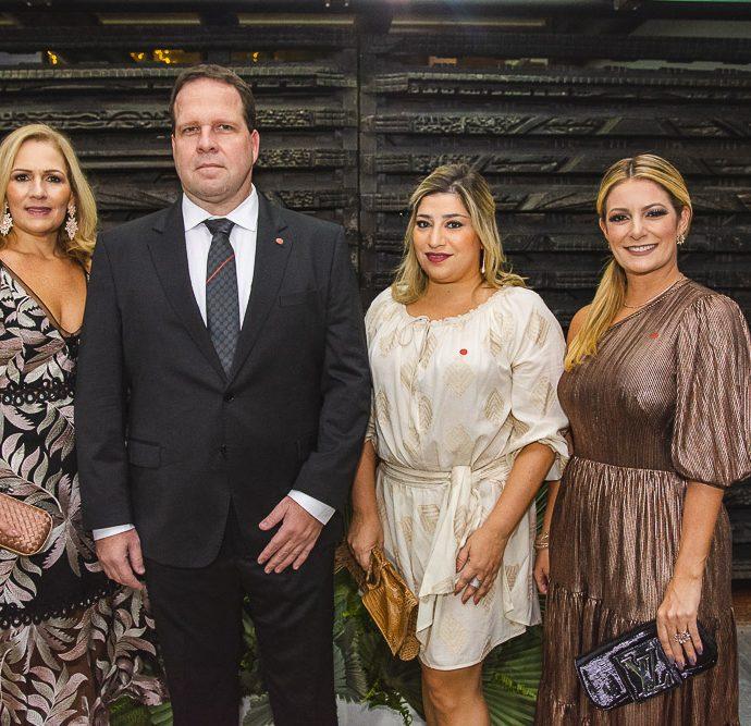 Marcia Teixeira, Edson Ventura, Manu Romcy E Tatiana Luna