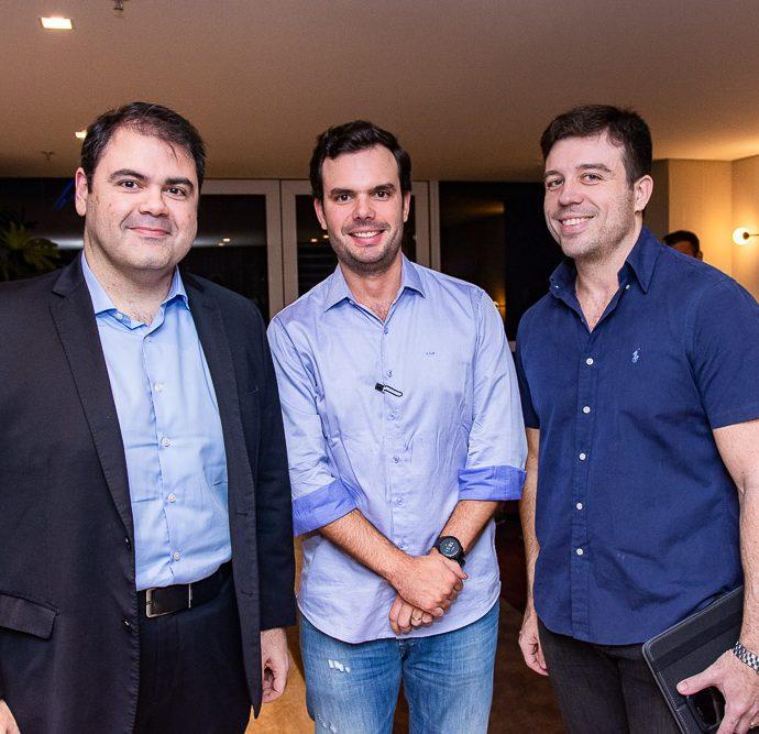 Marco Aurelio, Thiago Barroso E Henrique Mourao