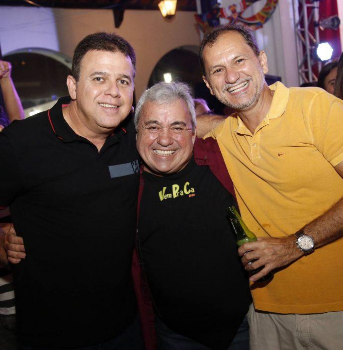 Marcos Colares, Pirolho E Ricardo Lopes