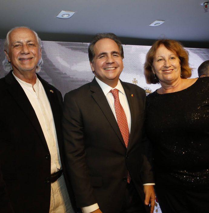 Marcos De Castro, Ricardo Bacelar E Anete De Castro