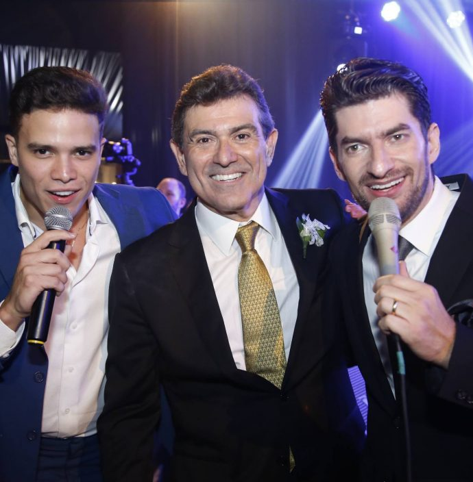 Marcos Lessa, Alexandre Pereira E Paulo Jose