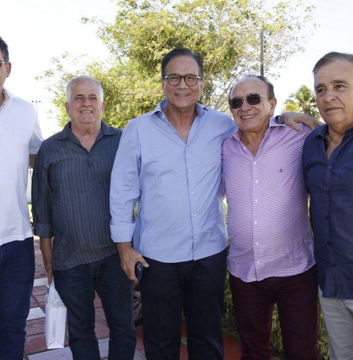 Marcos Medeiros, Ze Antunes, Beto Studart, Marcos Montenegro E Claudio Targino