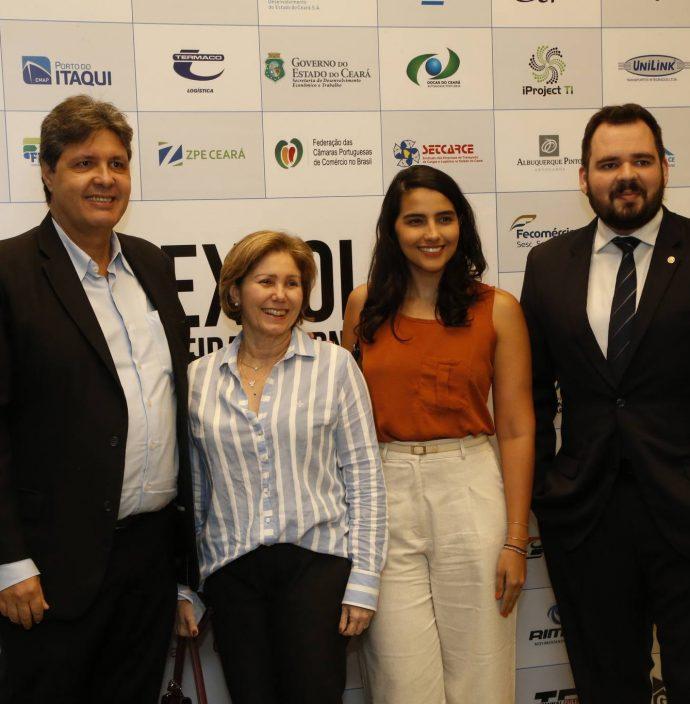 Marcos Oliveira, Ludimila Campos, Livia Prata E Lary Carvalho