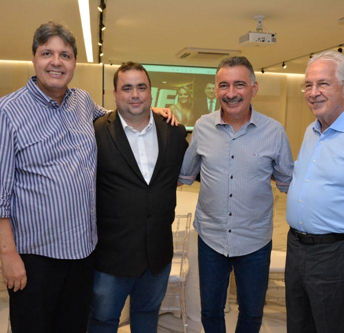 Marcos Oliveira, Ricardo Dreh, Arthur Bruno E Carlos Prado