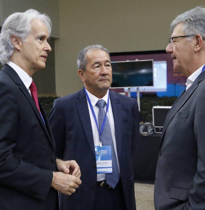 Marcos Pompeu, Wandocyr Romero E Carlos Maia