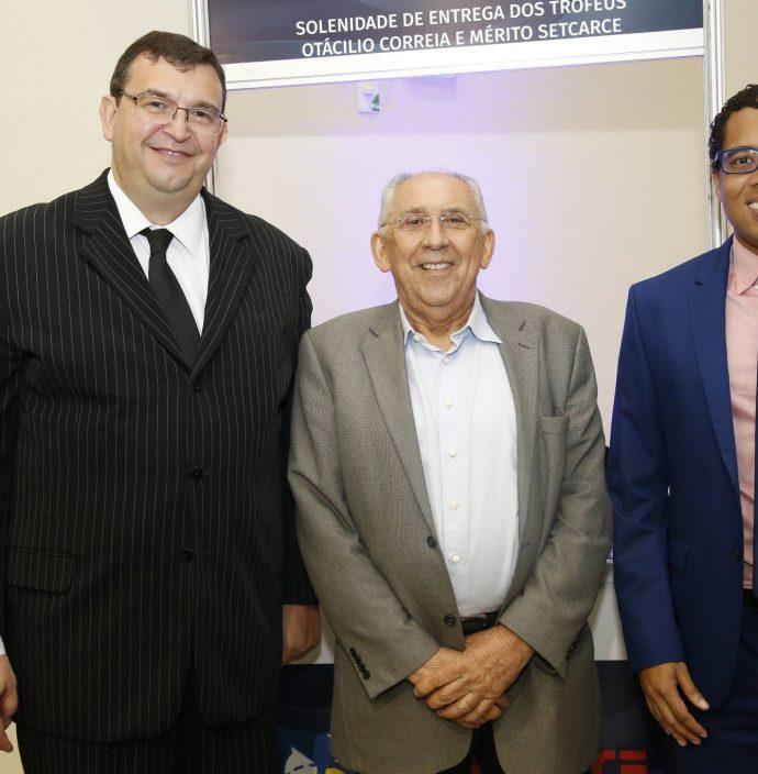 Marcos Viana, Luiz Carlos Correa E Renan Reboucas