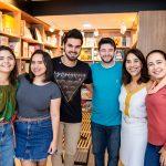 Maria Clara, Elisa Fontes, Rick Teixeira, Victor Alen, Ana Luiza Caracas E Valesca Alves