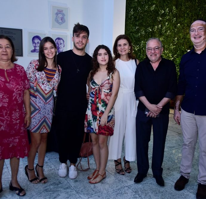 Maria Dalva, Ligia Arruda, Paulo Marcelo, Clarice Dalva, Rita Dalva, Wagnar Barbosa, Jonab Fernandes,