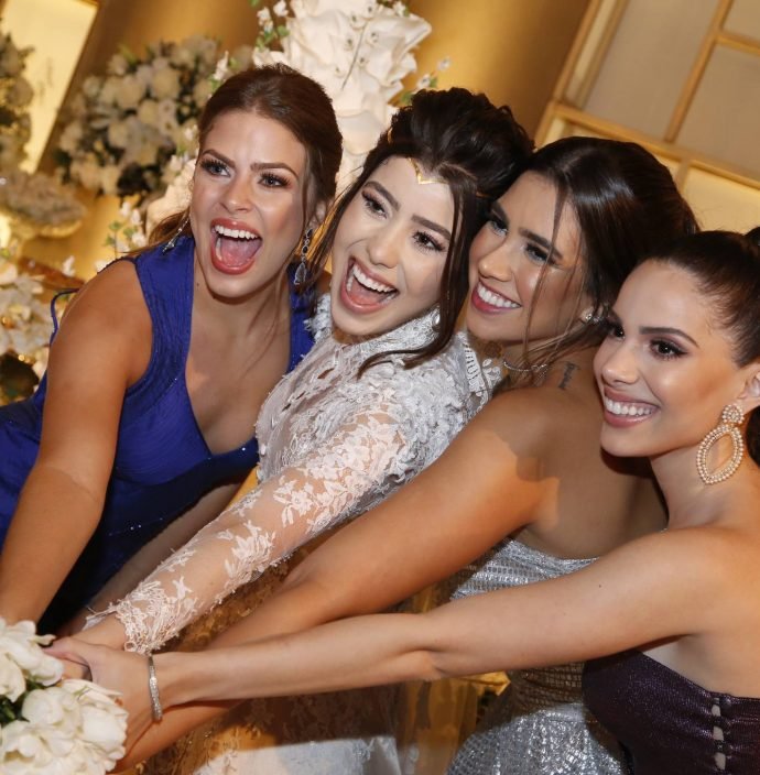 Mariana Palacio, Rayssa Cavalcante, Susana Pinto E Nicole Vasconcelos