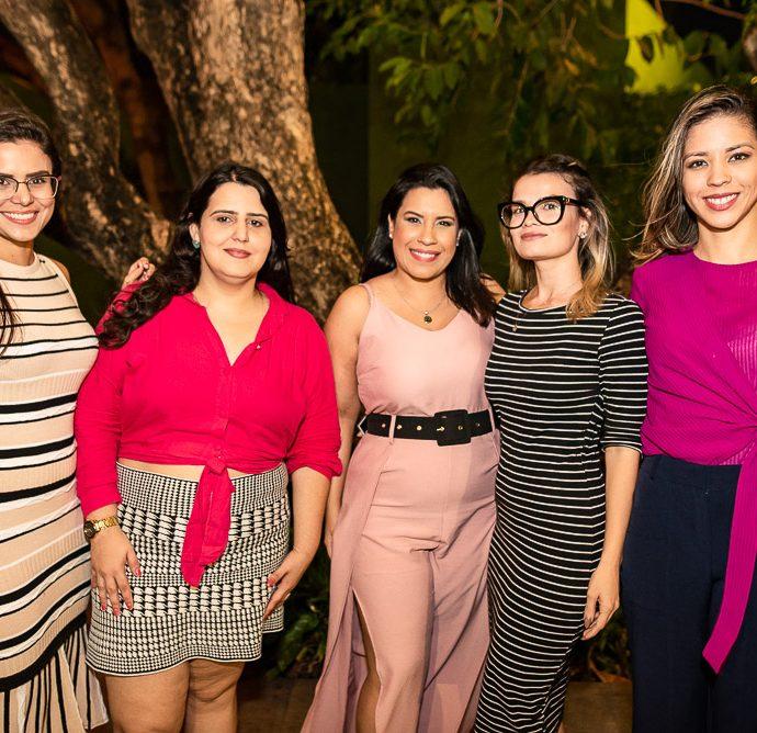 Mariana Pessoa, Denise Lima, Amanda Oliveira, Emanuele Vieira E Sabrina Veras