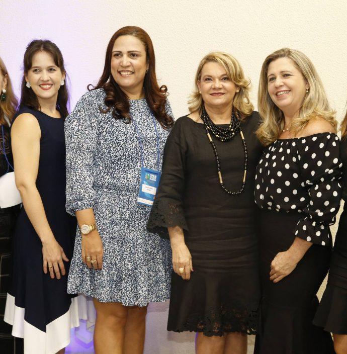 Marines Todescato, Raquel Braga, Zenalda Ferreira, Dacy Braga, Virginia Bessa E Elane Alves