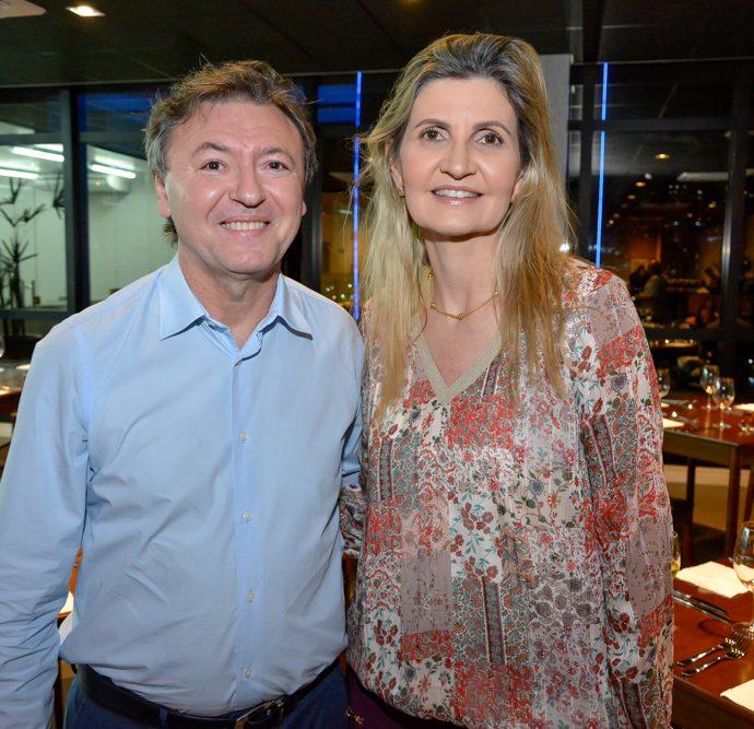 Mauricio Filizola E Laura Paiva