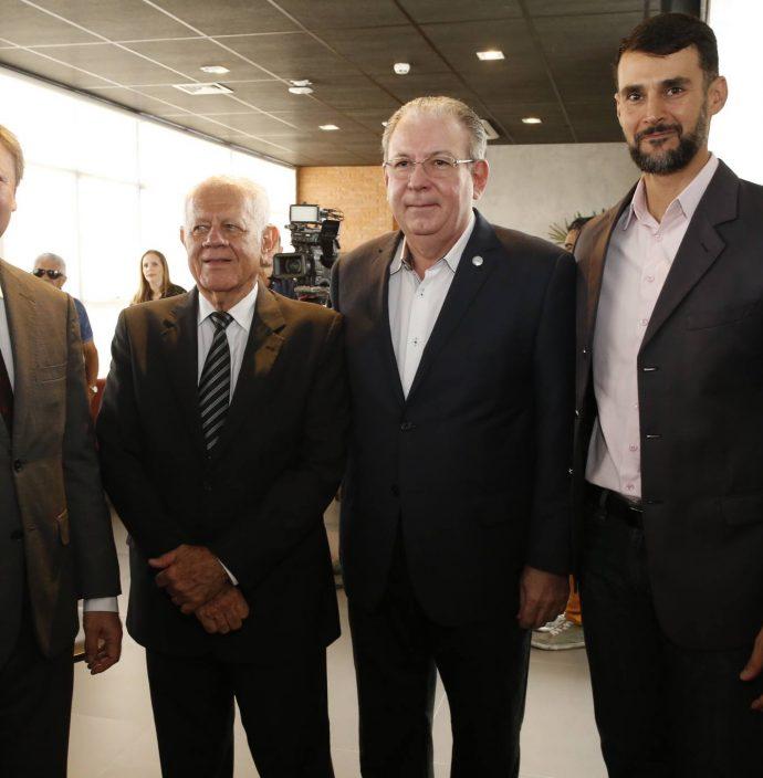 Mauricio Filizola, Flavio Saboya, Ricardo Cavalcante E Dimas Barreira