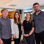 Mauricio Filizola, Raquel Barros, Georgia Philomeno E Rodrigo Leite