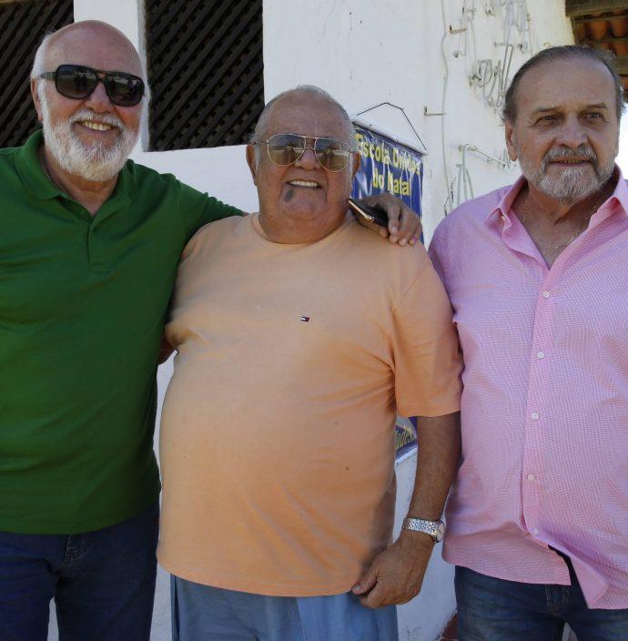Mauricio Leal, Claudio Philomeno E Carlos Augusto Moraes