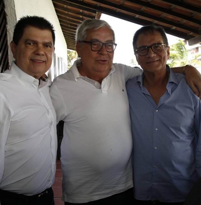 Mauro Benevides Filho, Roberto Farias E Beto Studart