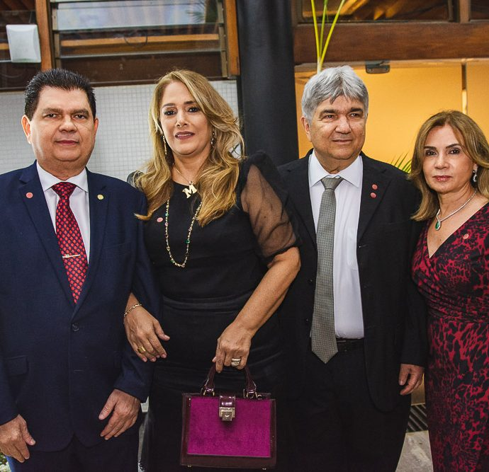 Mauro Benevides, Marisa Benevides, Carlos Benevides E Any Benevides