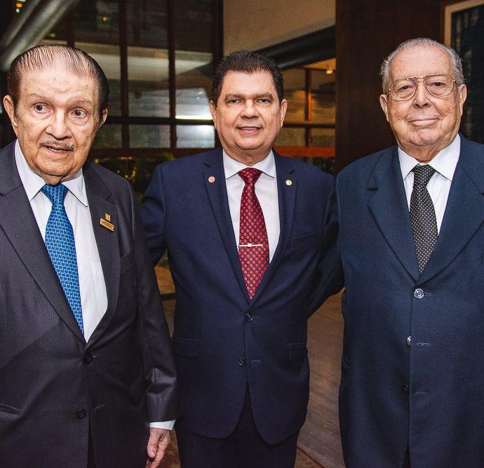 Mauro Benevides, Mauro Benevides Filho E Edson Ventura