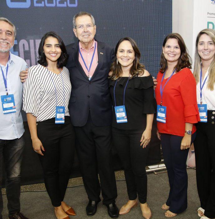 Mauro Costa, Livia Prata, Ricardo Parente, Emanuela Franca, Erika Mavignier E Sandrini Montalverne