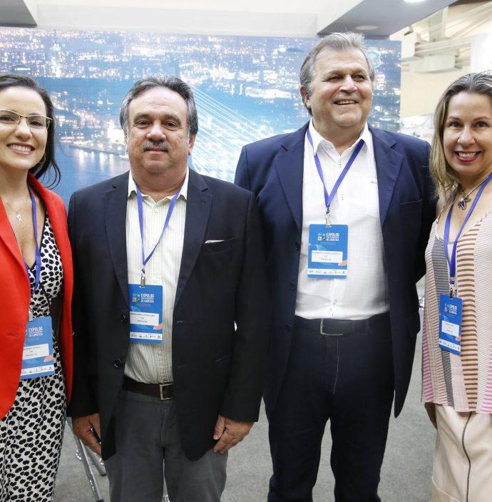 Mayhara Chaves, Mario Jorge, Humberto Castelo Branco E Luciana Franco