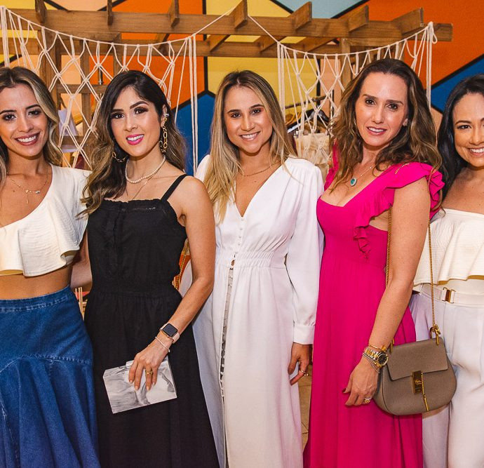 Mikaela Bottura, Manoela De Castro, Roberta Fernandes, Roberta Nogueira E Daniela De Paula