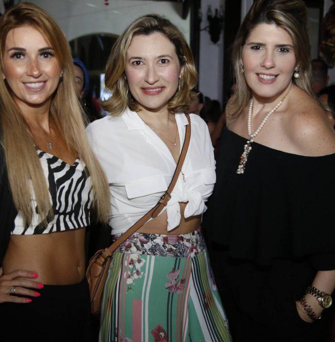 Monica Beutmuller, Gladna Lopes E Fernanda Abreu