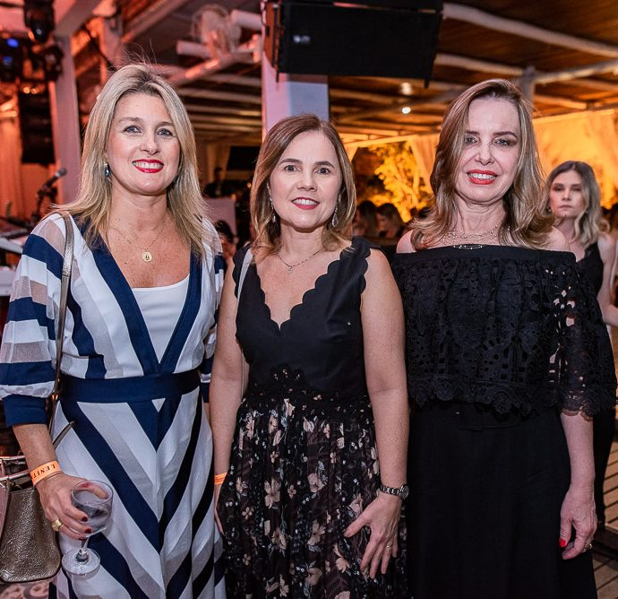 Monique Gurgel, Gyna Machado E Eveline Benevides