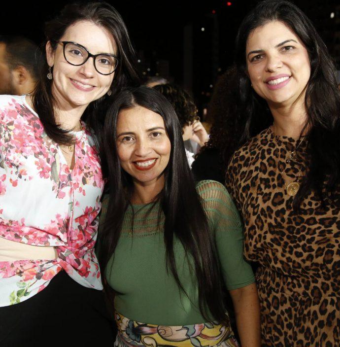 Nathaly Camarao, Dana Nunes E Karina Frota