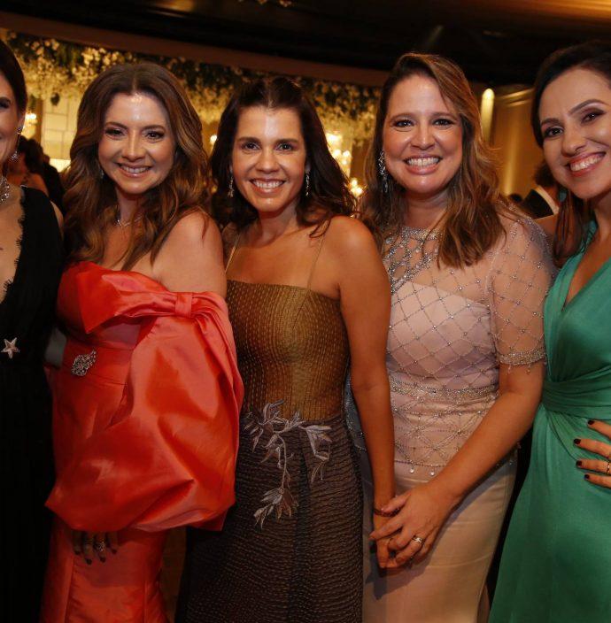 Niedja Bezerra, Emilia Buarque, Claudia Diniz, Luciana Colares E Luciana Frota