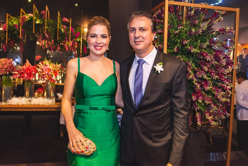 Onélia e Camilo Santana serão papais novamente