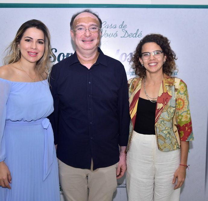 Onélia Leite Santana, Jonab Fernandes, Luisa Cela,