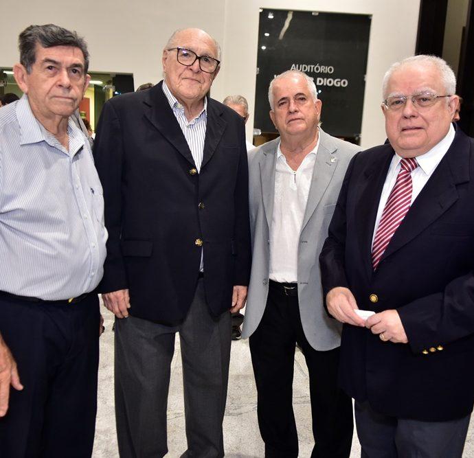 Orlando Siqueira, Luiz Marques, Antunes Mota, Gonzaga Mota