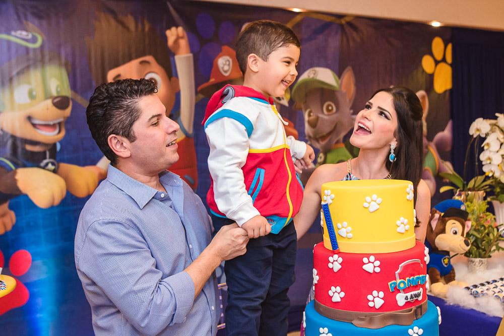 Pompeu Quintão Vasconcelos comemora seus 4 aninhos com festa pra lá de animada no Plus Buffet