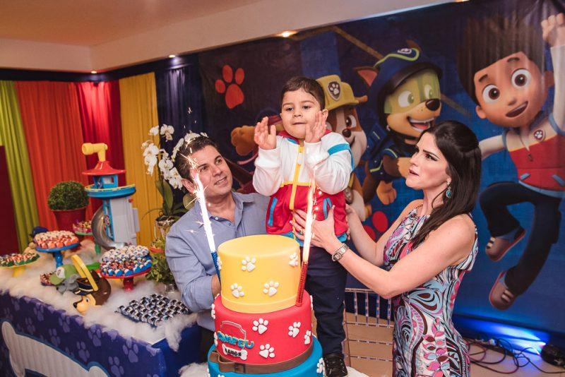 Paw Patrol - Pompeu Quintão Vasconcelos comemora seus 4 aninhos com festa pra lá de animada no Plus Buffet