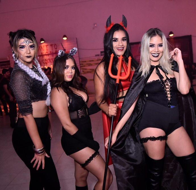 Patricia Carvalho, Natane Gadelha, Priscila Nogueira, Nayane Gadelha