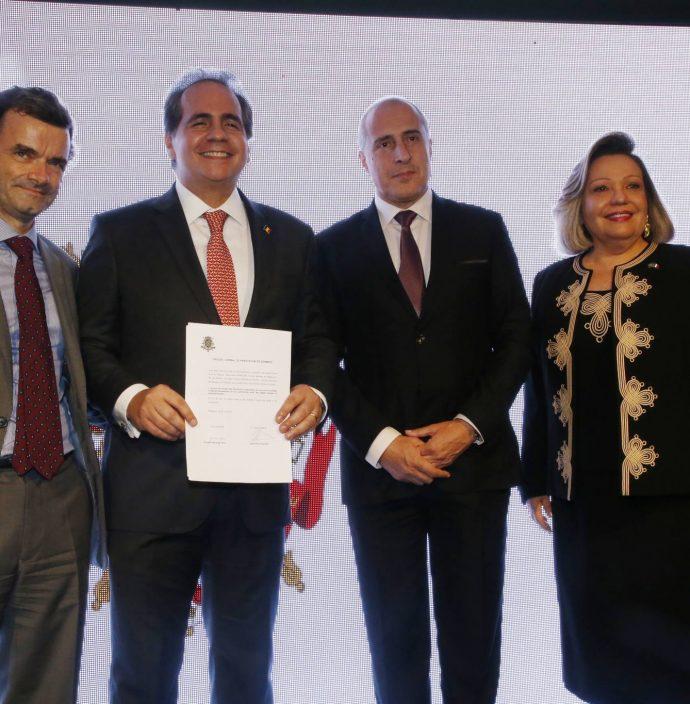 Patrick Herman, Ricardo Bacelar, Jean Paul Charlier E Fernanda Jensen 2