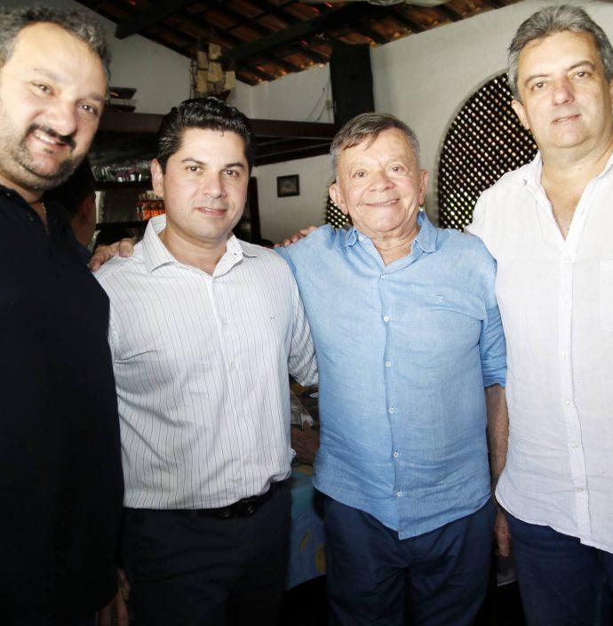 Patriolino Dias, Pompeu Vasconcelos, Edilmo Cunha E Jose Guedes Neto