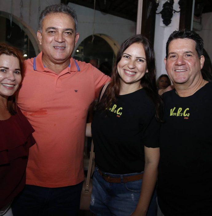 Paula E Pedro Caminha, Camila Nobre E Fabio Junior