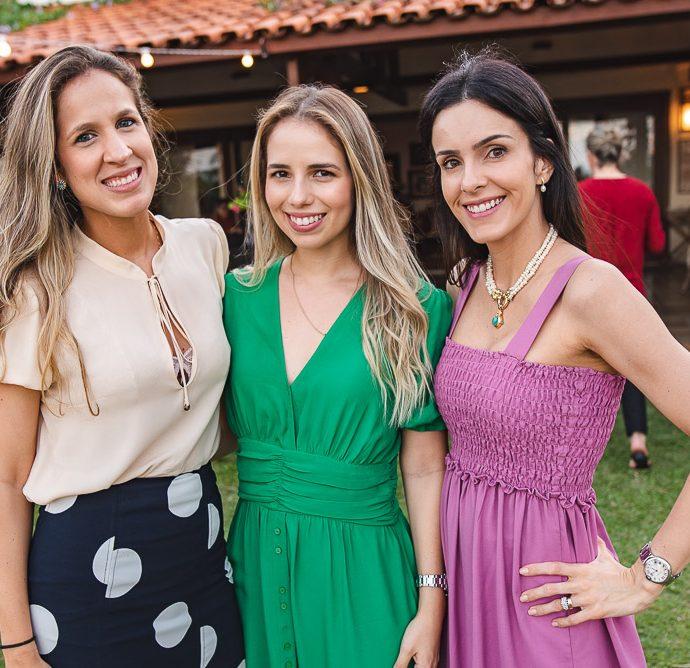 Paula Galvao, Katarina Machado E Mariana Farah