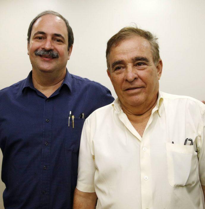 Paulo Andre Holanda E Claudio Targino